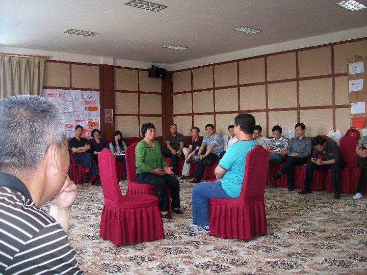 Policy by the people for the people - hands on training exercise in China