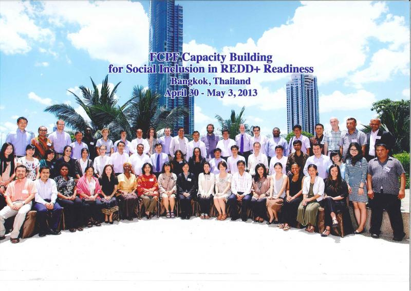 Group photo - FCPF regional training on social inclusion in REDD+ in Bangkok
