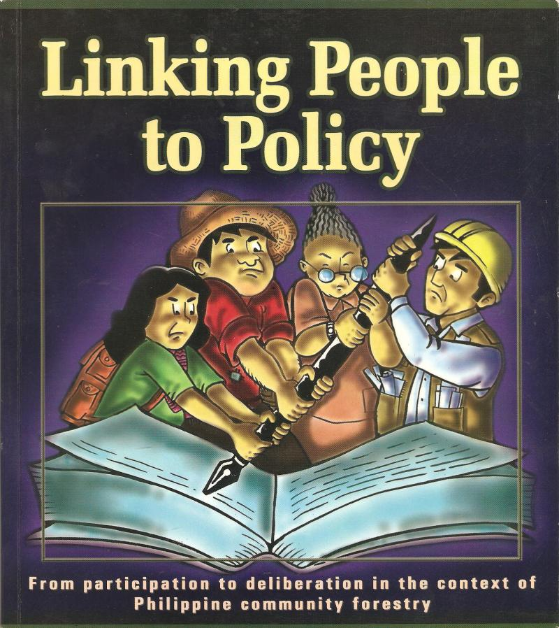 Linking People to Policy - book developed by Peter O'Hara