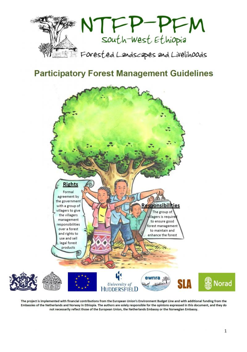 Participatory Forest Management Guidelines Ethiopia