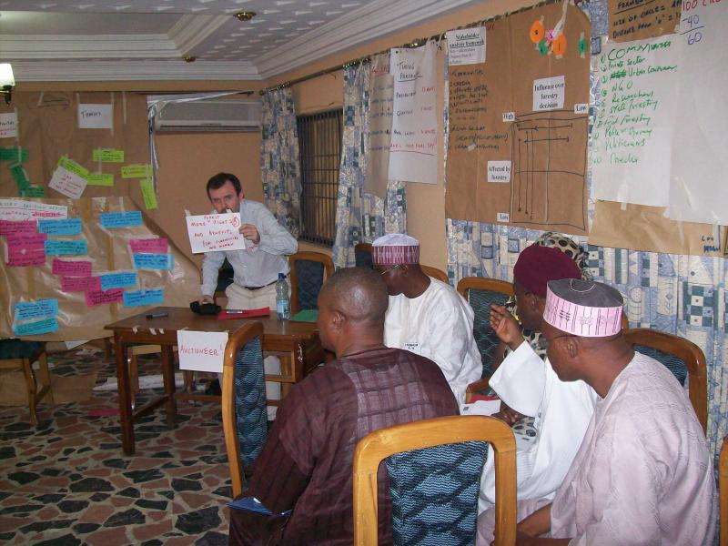 Auction ranking exercise in Nigeria to ensure rounded forest policy outcomes