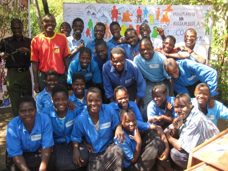 Introducing PNRM to school children in Malawi